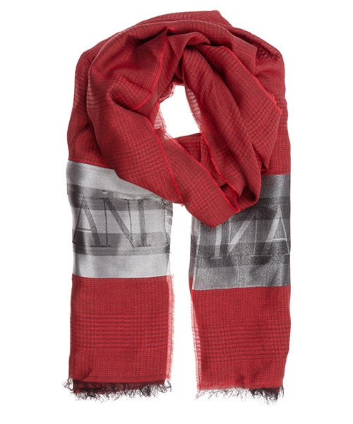 Stola Emporio Armani 6352180a33132474 rebel red