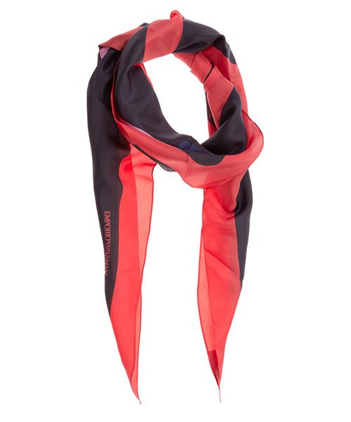Pañuelos de seda Emporio Armani 6353040A31500522 black / red