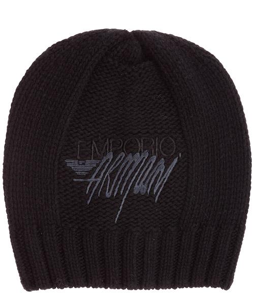 Mütze Emporio Armani 6375420a51300020 black