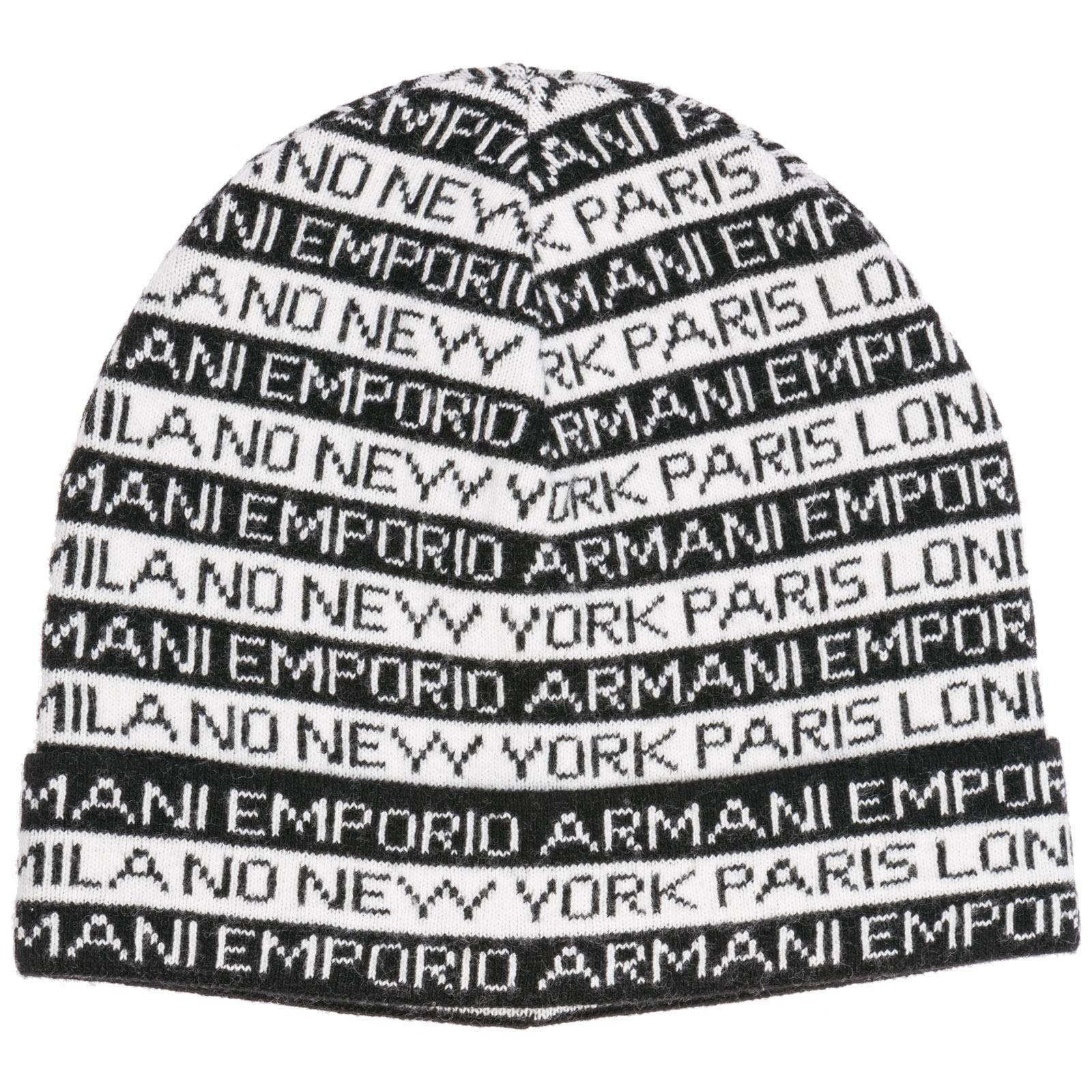 1c5712f8ac2e Berretto Emporio Armani 6G14011MC6ZF107 nero   FRMODA.com