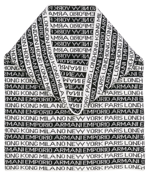 Men's wool neck ring loop scarf secondary image