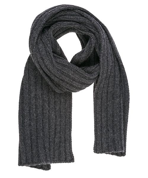 Bufanda de lana Emporio Armani 6G14101MD7Z0650 antracite melange