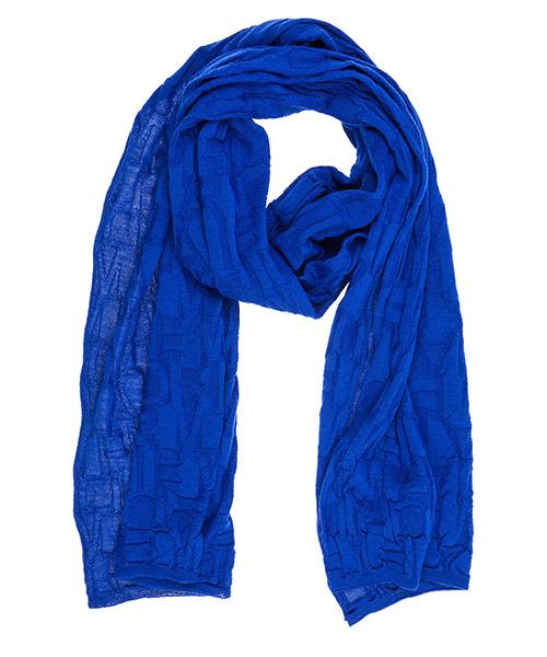 Wool scarf Emporio Armani 6Z14071MA5Z0952 bluette