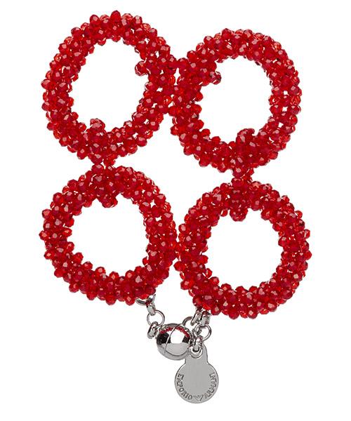 Pulsera Emporio Armani 8602390A60532474 rebel red