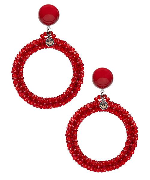 Pendiente Emporio Armani 8602400A60532474 rebel red