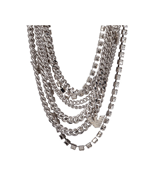 Collier strass multifilo secondary image