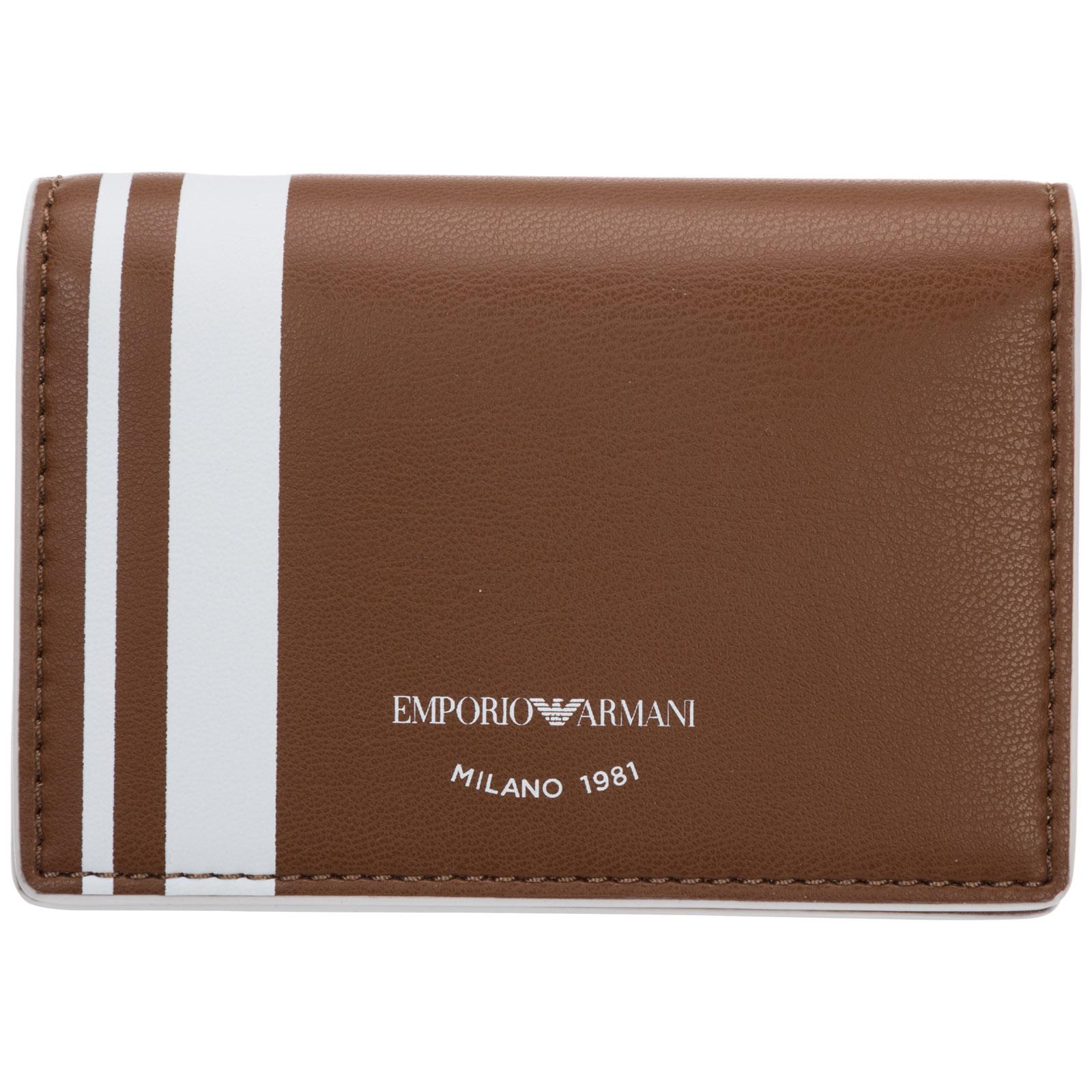 Emporio Armani WOMEN'S CREDIT CARD CASE HOLDER WALLET