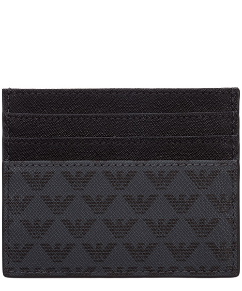 Credit card holder Emporio Armani Y4R069YG91J81072 black