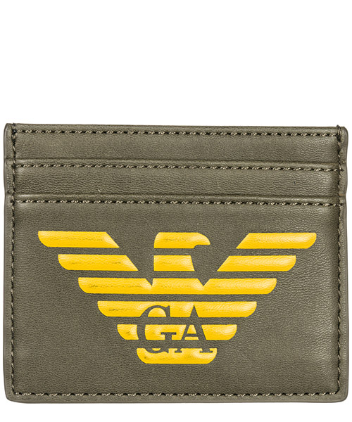 Credit card holder Emporio Armani Y4R125YG90J83196 military green