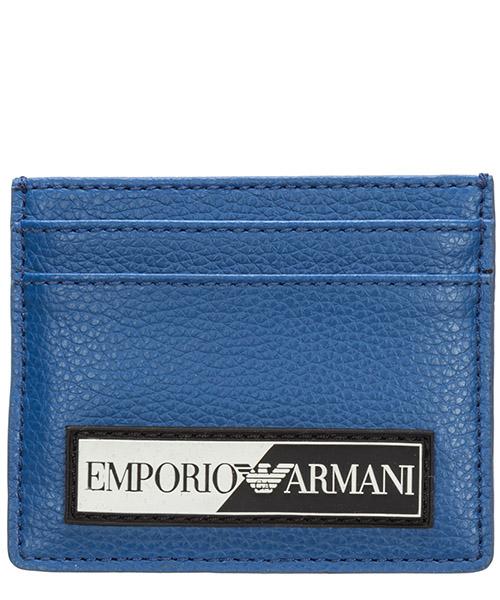 Credit card holder Emporio Armani y4r125yta2j81576 electric blue