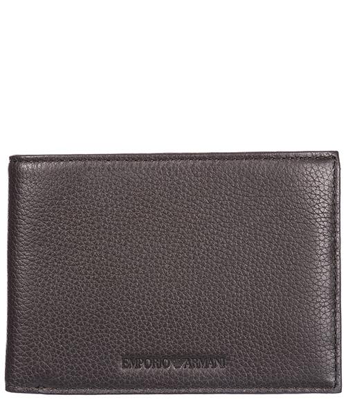 Portafoglio Emporio Armani Y4R166YDS4E80353 dark brown