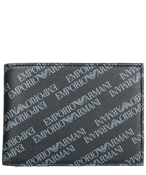 Portafoglio Emporio Armani Y4R166YLO7E86526 black