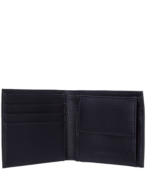 Men's wallet leather coin case holder purse card bifold secondary image