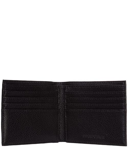 бумажник двойного сложения кожаный мужской secondary image