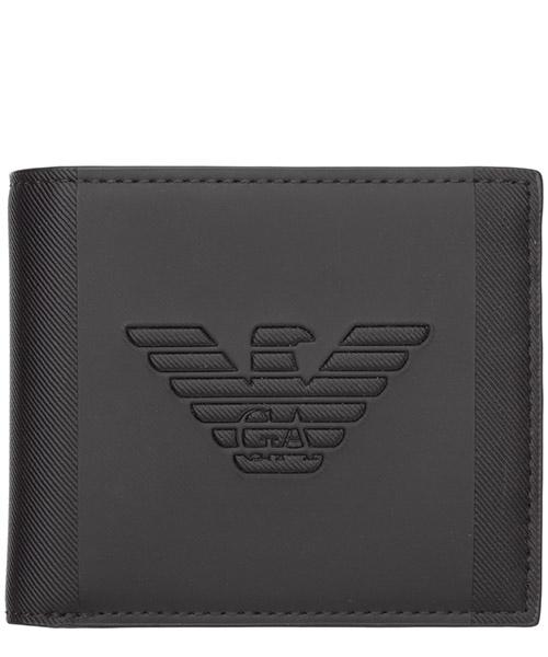 Portafoglio Emporio Armani Y4R168YFE6J81072 black