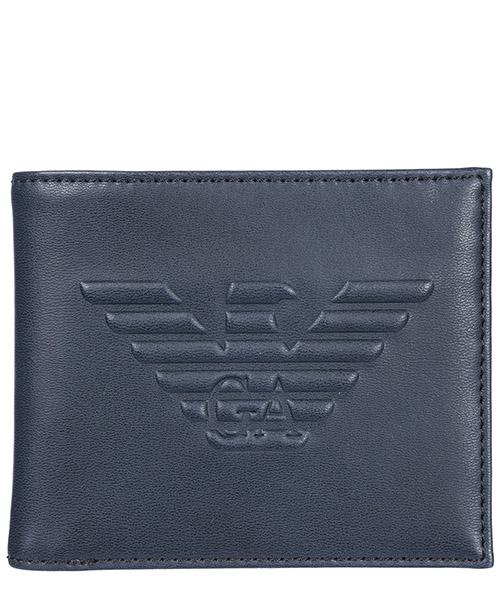 Portafoglio Emporio Armani Y4R168YG90J80033 blu