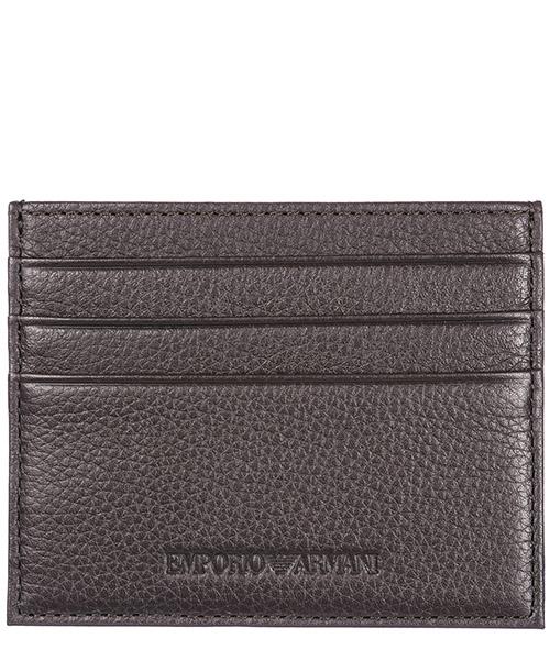 Porta carte di credito Emporio Armani Y4R173YDS4E80353 dark brown
