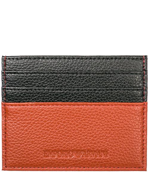 Porte-carte de crédit  Emporio Armani Y4R173YEW1E81520 orange / black