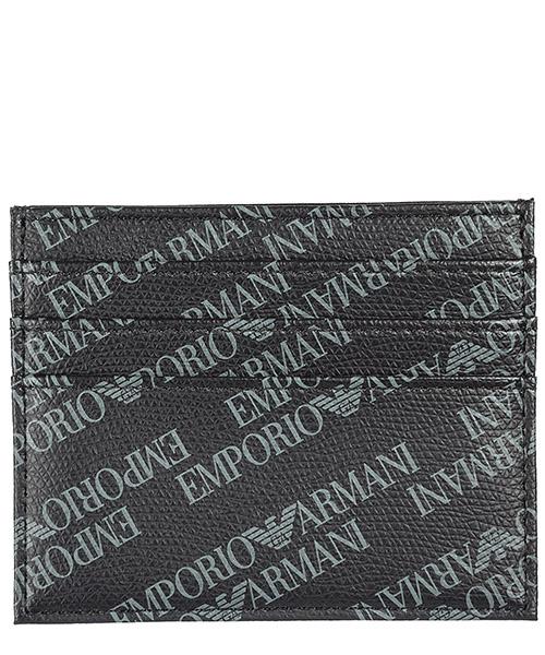 Porta carte di credito Emporio Armani Y4R173YLO7E86526 nero