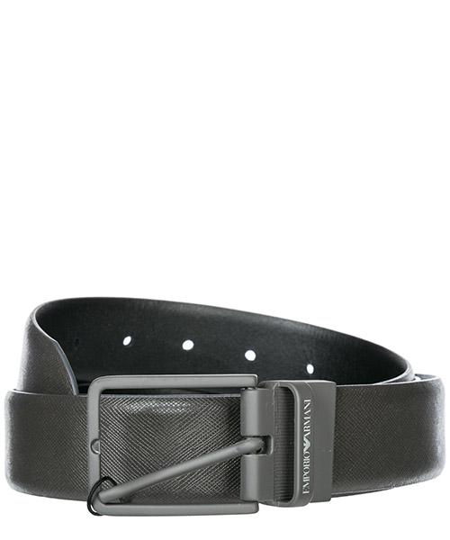 Ремень Emporio Armani Y4S202 YLP4V 88305 grey / black