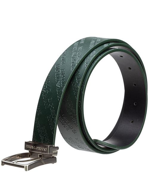 Cinturón en piel de hombre ajustable secondary image