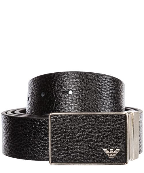 Cintura Emporio Armani Y4S225YMB4E88044 black / dark tan