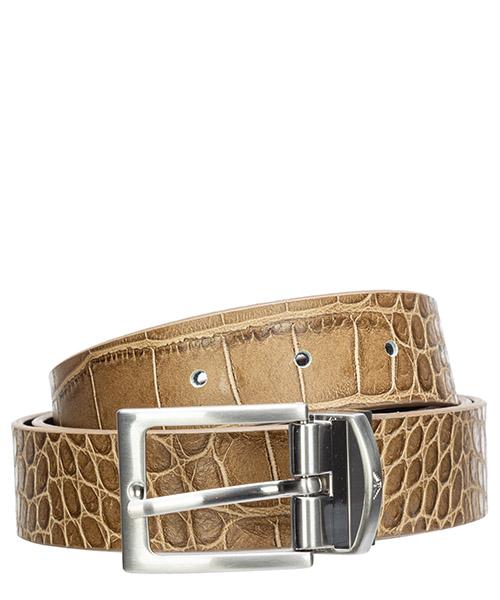 Cinturón Emporio Armani y4s278ytg1e88153 sabbia / nero