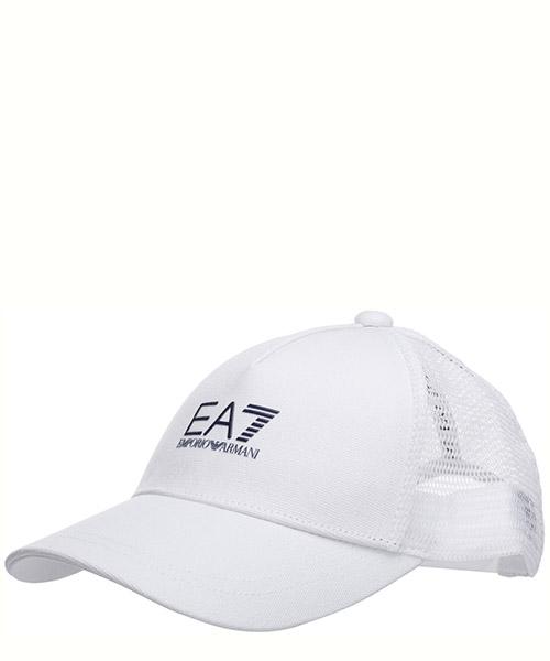 Cap Emporio Armani EA7 2450200p85567510 white/blue navy logo