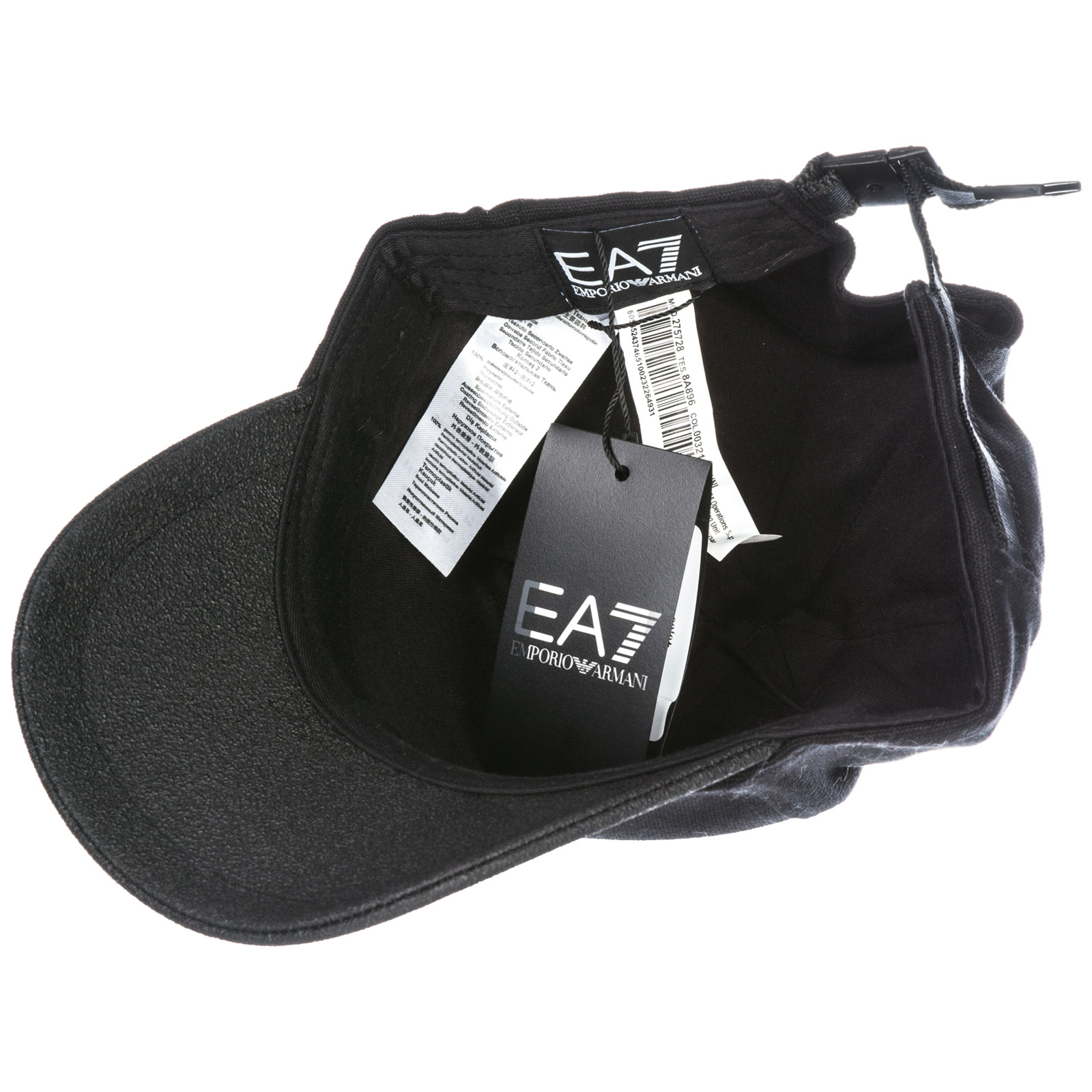 4e43d22e148 Baseball cap Emporio Armani EA7 2757288A89600321 nero