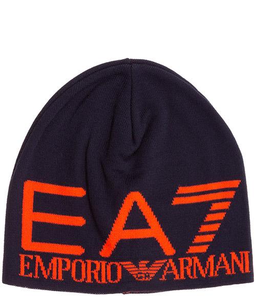 Beanie Emporio Armani EA7 2758939A30101838 blu
