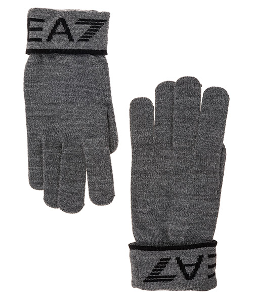 Gloves Emporio Armani EA7 2758959A30122642 grey/ black