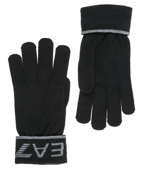 Перчатки Emporio Armani EA7 2758959A30161020 black / grey