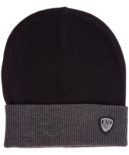 Mütze Emporio Armani EA7 2758969a30271220 black / carbon melange