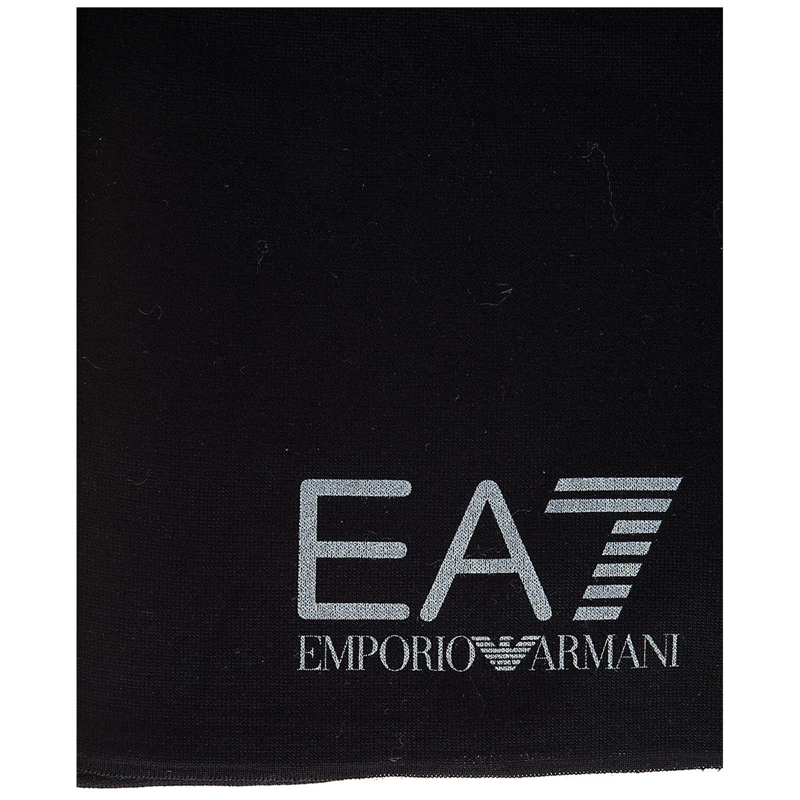 Scarf Emporio Armani EA7 285439 7A393 00020 black   FRMODA.com c77c7ab2a79