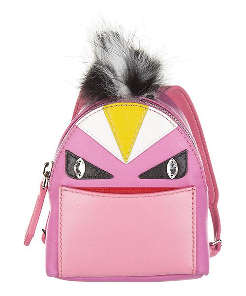 Bijoux de sac Fendi 7AR457 5PP F078Q rosa