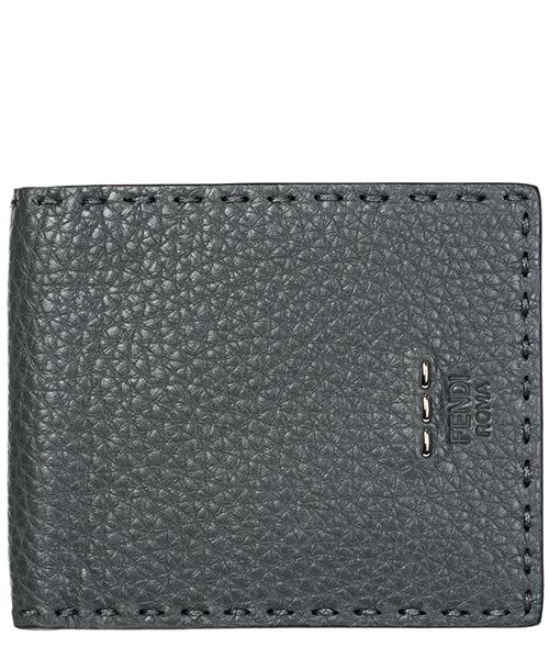 Бумажник Fendi 7M0193O72F0L6B asfalto+nero+palladio