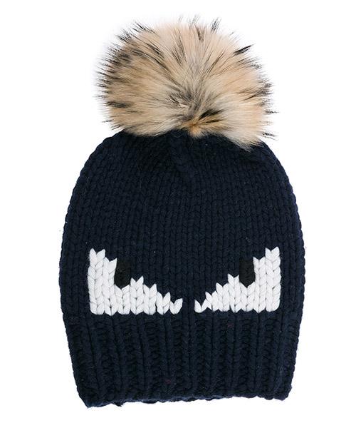 Mütze Fendi FXQ0565 6X F0UJ5 nero