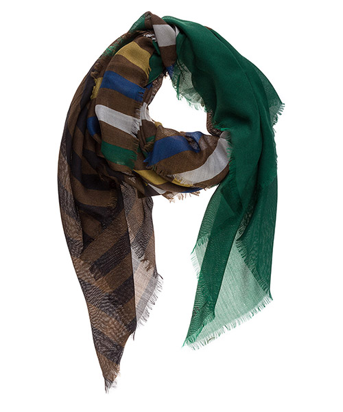 Foulard donna in seta pequin secondary image