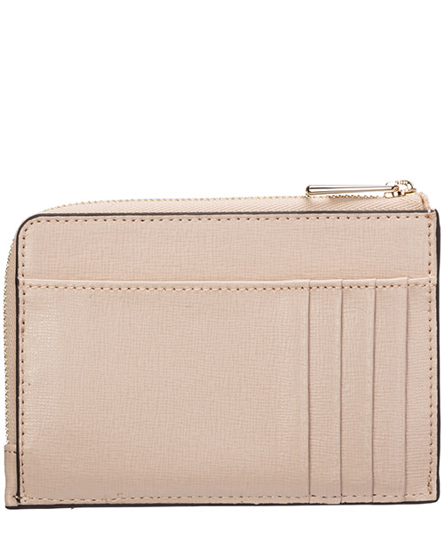 Women's genuine leather credit card case holder wallet babylon secondary image