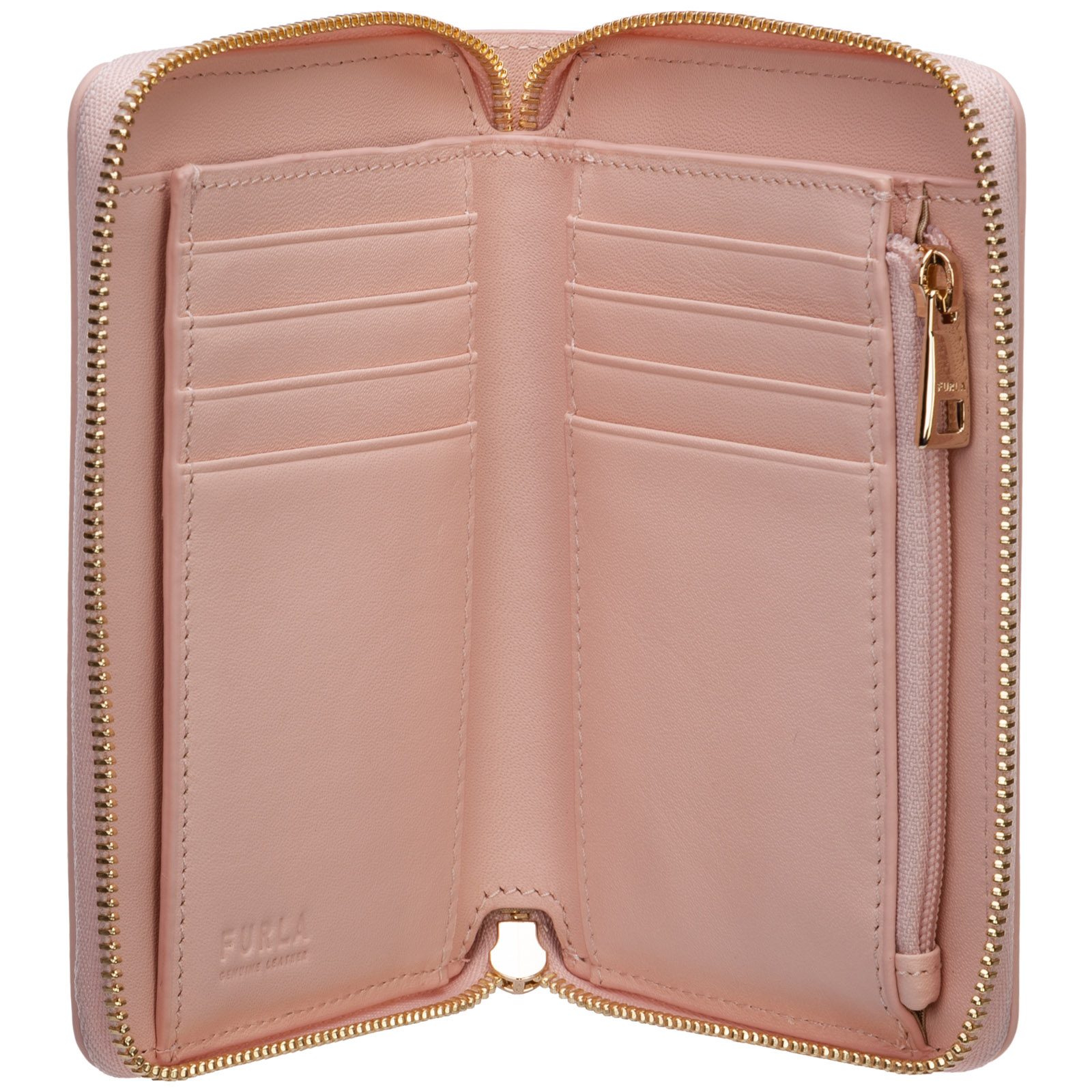 Women's wallet genuine leather coin case holder purse card rita