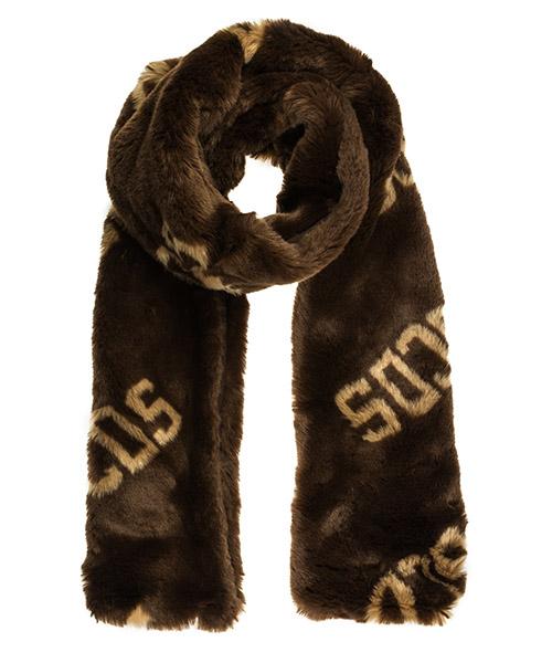 Schal GCDS FW20W010330-14 marrone