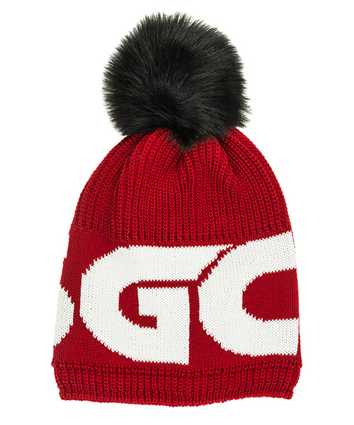 Beanie GCDS FW20W010387-03 red