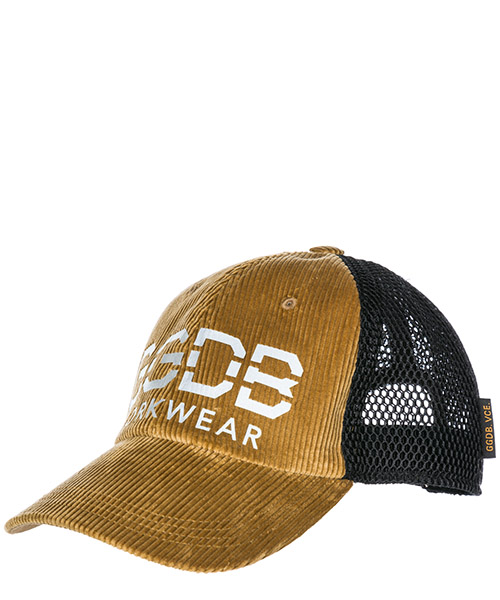 Hat Golden Goose Doc G33MA589.A1 camel / black