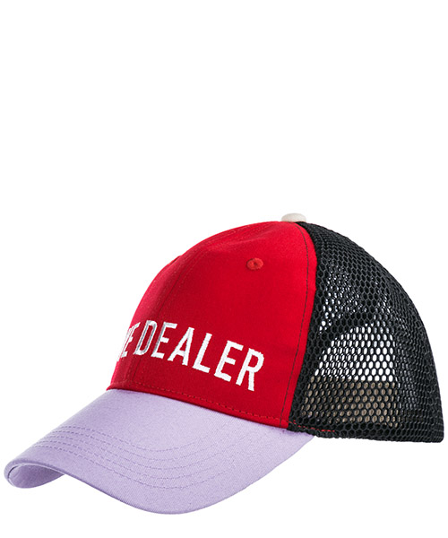 Baseball cap Golden Goose Clare G34WA089.A2 red lilac / love dealer