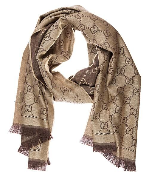 Schal Gucci 133483 3G200 2764 marrone