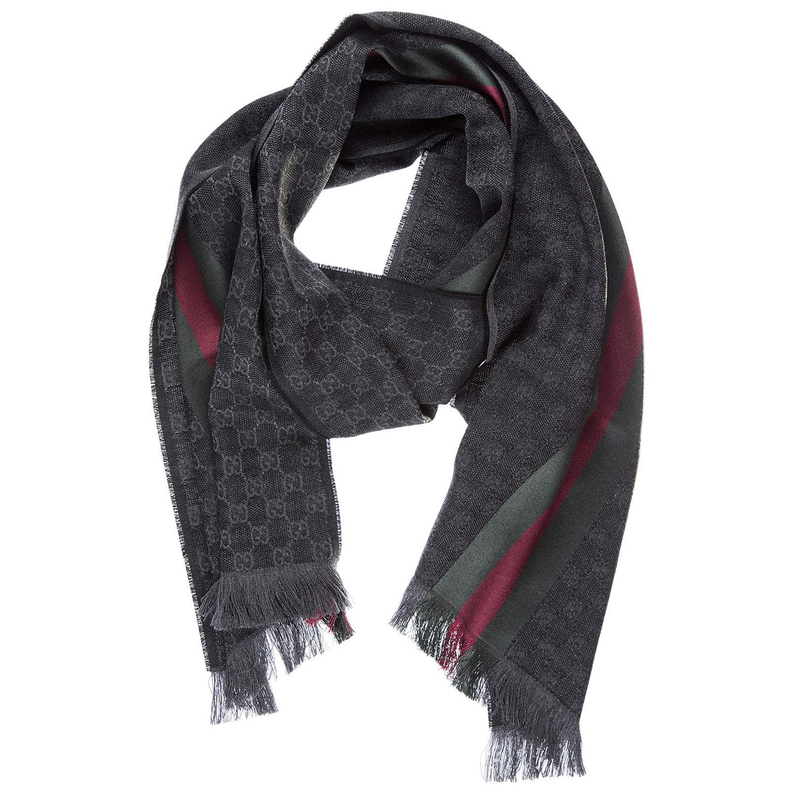 informazioni per 8f357 6e400 Sciarpa uomo in lana jacquard