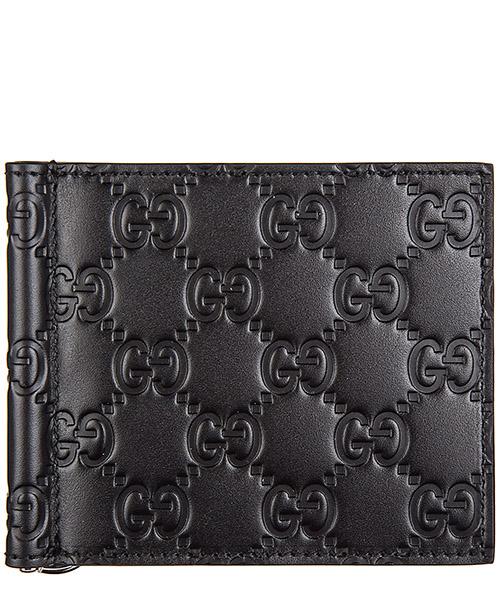 Portefeuille Gucci Signature 170580 CWC1N 1000 nero