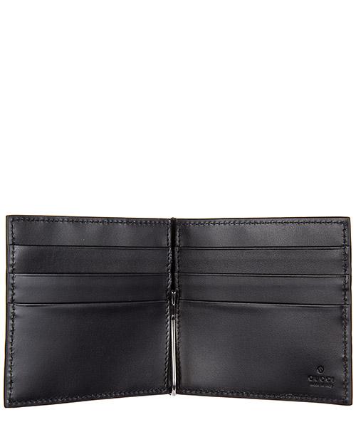 Men's leather slim money clip  signature secondary image