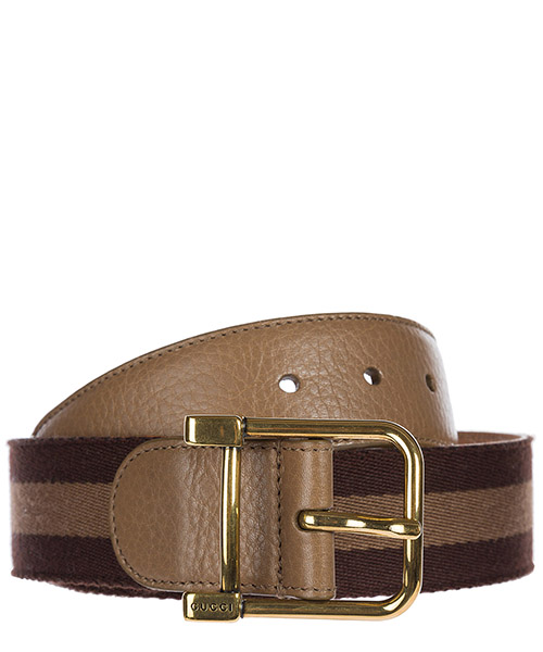 Belt Gucci 245873 A7MAG 2187 marrone