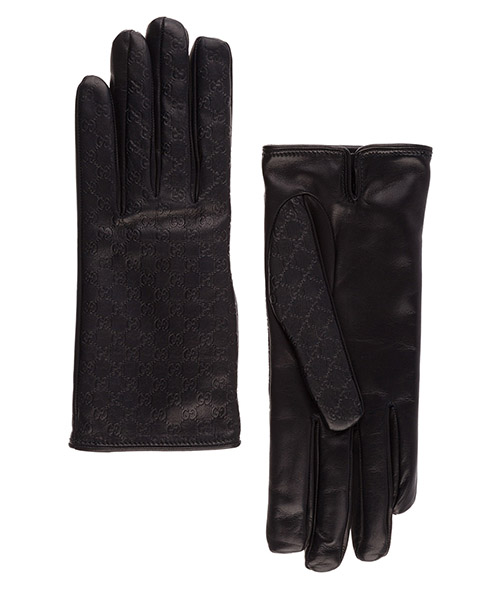 Gloves Gucci 283418BMV101000 nero